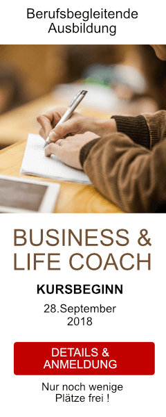 Ausbildung zum Business & Life Coach