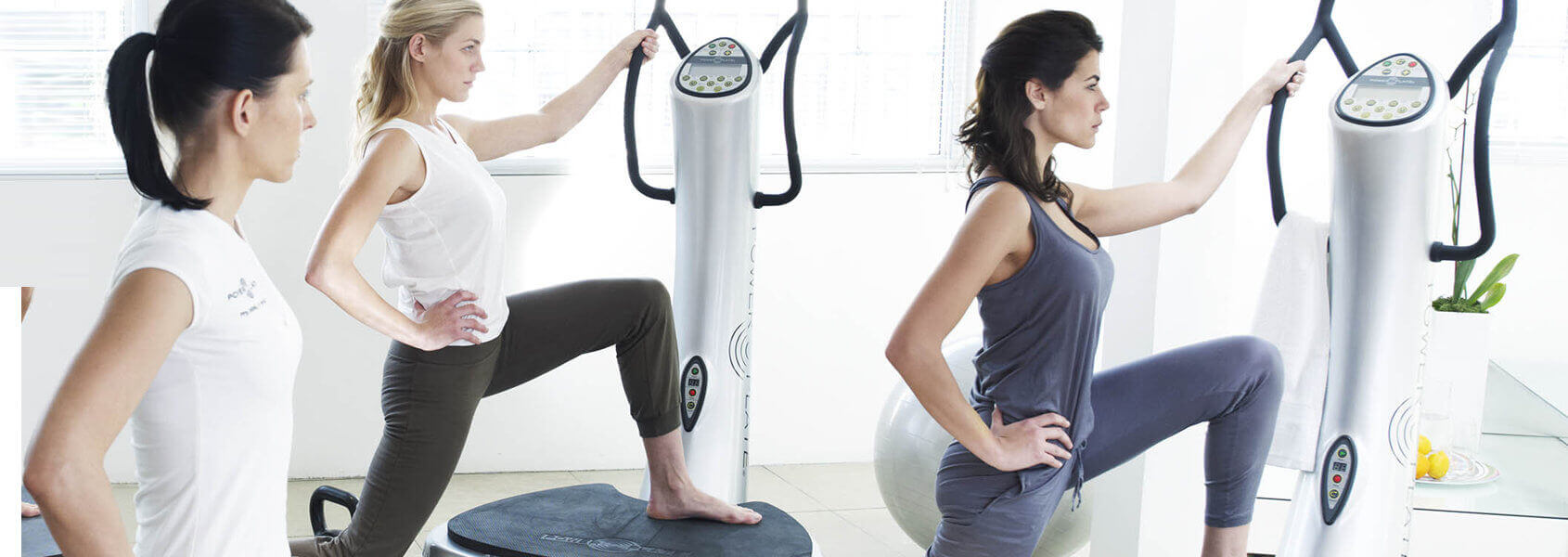 Power Plate training in der Gruppe